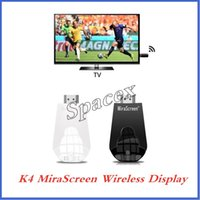 10pcs Mirascreen K4 wireless Display dongle HDMI Media Video...