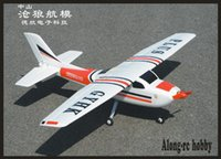 EPO-Flugzeug RC-Flugzeug RC-Modell-Hobby-Spielzeug Anfänger-Flugzeug 4-Kanal 1200mm Wingspan 4CH Cessna 182 plus Kit-Set oder PNP-Set