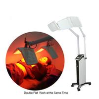 Chaud!Machine de beauté de thérapie de lumière de PDT LED avec les grandes lampes de la puissance élevée LED de lumières rouges/bleues/jaunes/vertes