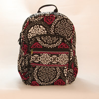NWT Campus Backpack Cotton School Bags for Teenagers VB Camp...