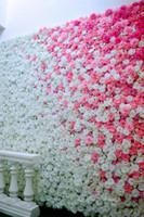 19стиль 8см искусственные розы головы цветок ткань FlowersDecorative цветы свадебные композиции букет DIY поддельные венок T2I5594