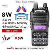 Erweiterte BAOFENG UV-82 8W Baofeng UV 82 Walkie Talkie 10 KM 8W Radio Doppel PUV-XR UV-9R GT-3TP Ham Radio 10 KM UV-5R