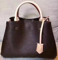 La bolsa de cuero cruzada patrón de síntesis de la cadena bolsa de cáscara de envío de la nueva de la mujer bolso bolso Messenger fashionista famoso # 6541056