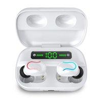 Wireless Bluetooth 5.0 Headphones TWS In Ear True Wireless Earbuds IPX7 Waterproof Earphones 8D Stereo Noise Cancelling Headset