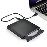 외부 DVD 드라이브 광학 드라이브 USB 2.0 CD ROM 플레이어 CD-RW 버너 라이터 리더 레코더 Portatil 노트북 Windows PC 새로운
