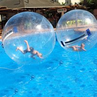 شحن مجاني كرة الماء المشي لعبة الكرة مع tpu 1.0 ملليمتر و tizip ألمانيا سحاب من قطرها 2 متر لمدة 1-2 أشخاص