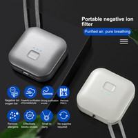 Collier de purificateur d'air portable personnel / mini à air portable ioniseur de fidéliste / générateur d'ions négatif / éliminateur d'odeur / enlever la fumée en voiture