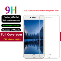 Screen Protector for Apple iPhone 11 Pro Max XS Max XR Tempered Glass for iPhone 7 8 Plus i6 6S plus with Paper Box Free shipping