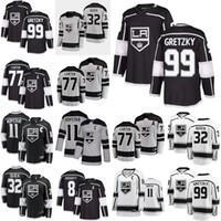 Los Angeles Kings jerseys 8 Drew Doughty Jersey 11 Anze Kopitar 32 Jonathan Quick 77 Jeff Carter Wayne Gretzky del hockey jerseys cosido