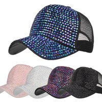New Arrival Fashion 2018 Women 54~62cm Casual Rhinestone Hat...