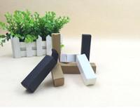 Мыло ручной работы свечи ящики для хранения клапан трубы 50 шт. / лот-6*5*15 см белый черный крафт-бумага коробка косметический кувшин ремесло