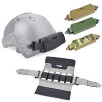 Outdoor Airsoft Paintball Shooting Tactical Airsoft Airsoft Casco Accessorio Accessorio Contrappeso Kit Bilanciamento Borsa Bilanciamento per casco NO01-135