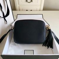 Las mujeres forman el bolso famoso de la marca del diseñador del bolso de la borla de SOHO bolsos de las señoras de la borla de las mujeres Litchi Perfil La bolsa de mensajero 308364