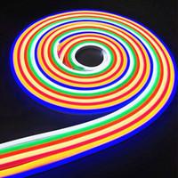 LED 스트립 12V 방수 2835SMD 리본 LED 네온 빛 IP65 화이트 / 따뜻한 화이트 / 레드 / 그린 / 블루 / 핑크 / 노란색 LED 테이프 라이트