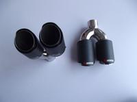 классический двойной Inlet63mm-outlet89mm для AK углеродного волокна выхлопного наконечника выхлопной трубы глушителя