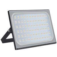 Açık 500 W LED Projektörler Ince Tasarım IP67 Su Geçirmez Işıklandırmalı 40000LM Garaj Bahçesi için Süper Parlak Güvenlik Duvar Işıkları