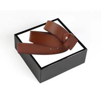 2019 года с коробкой Новые дизайнерские ремни бренда Luxury Belt Высококачественные кожаные ремни для мужчин и женщин бизнес-пояса Марка ремней для мужских ремней