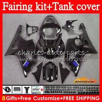 신체의 + 탱크 스즈키 GSX R1000 GSXR 1000 2000 2001 2002 86HC.99 GSXR1000 K2 GSXR1000 GSXR1000 00 01 02 페어링 키트 판매 광택 블랙에