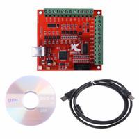 Freeshipping Pour le circuit imprimé de contrôleur de mouvement de conducteur d'interface d'axe USB de 100Khz de commande numérique par ordinateur 100Khz
