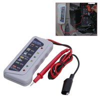 5- 14V 6 LED Lights Display Car Diagnostic Tool Auto Battery ...
