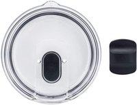 couvercle magnétique en plastique avec une grande preuve en cas de déversement de capacité Tasse Couvercles pour 900ml 600ml Covers Couvercles Safe pour Gobelets Coupes