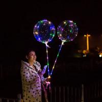 Bobo yeniden şişme flaş şeffaf balon açtı yıldönümü balon