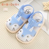 2020 Summer Infant Toddler Shoes Baby Toddler Sandals Non-Slip Breathable Soft Kids Anti-collision Shoes B92