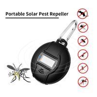 Açık Güneş Enerjili USB Sivrisinek Kovucu yatak böcek Fare Hamamböceği Ant Pireler Catcher Ultrasonik Böcek Haşere Kontrol Kovucu