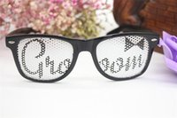 Bekarlığa veda Partisi Gözlük Gelin Damat Pinhole Sahil Tatil Gözlük Bar KTV Dans Performansı Sahne Doğum Günü Malzemeleri 3 5qt A1