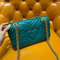 2019 Hot sell Borse Design classico viaggio reale originale di pecora rombo LOEWS Donne Lady Deluxe sella borsa della spalla del lavoro pochette per il trucco