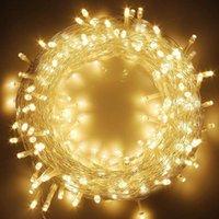 Yıldız 100 LED 33 ayak dize peri ışığı 8 aydınlatma modu açık ve kapalı parti çim aile yatak Twinkle