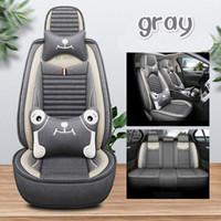 عالية الجودة مقعد خاص نوع الرسوم المتحركة سيارة يغطي لجاكوار XF جميع نماذج XE XJ F-PACE مقعد الكتان تنفس تغطي العالمي