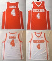 5  4 Mohamed mo bamba 2018-2019 New Rookie Team Texas College White  Classic Basketball Jersey Mens. US  27.02   Piece. New Arrival 579179cd0