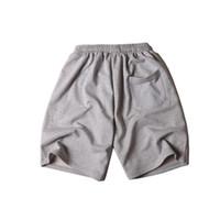 Мужские шорты лето Стиль Шорты Pattern Printed вскользь Сплошные цвета Короткие брюки Мода Спорт Короткие брюки Joggers 4 Стили Размер M-2XL