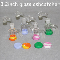 14 millimetri 18 millimetri Ash Catchers 90 degress Pipes Ash Catcher Glass Bong ashcatcher acqua di piccole bong DAB Ashcatchers rig olio di accessori per il fumo
