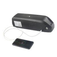 Freies verschiffen elektrische fahrrad 52 v hailong batterie 13Ah li ion batterien mit 5 V USB für 650 Watt bis 1000 Watt motor + BMS + Charger2A