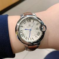 PABLO Raez vendita superiore delle donne di modo della vigilanza degli uomini della vigilanza del quarzo uomo Sport Data di lusso di alta qualità Orologi da polso orologi degli amanti della fascia in pelle di design