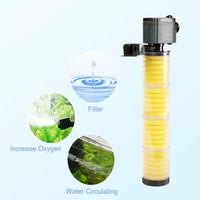 SOBO 30W 1800L / H Многофункциональный аквариум погружной насос фильтр Fish Tank 4 Layers Внутренний фильтр с медиа AC220V-240V