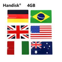 HanDisk® Оригинальное название карты USB флэш-накопитель 4 ГБ USB Pen Drive 4 ГБ Memory stick EU095