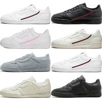 2020 Calabasas Powerphase Gri Continental 80 iskarpin pembe mavi Çekirdek siyah OG beyaz kadınlar mensTrainer Spor Sneakers 36-45