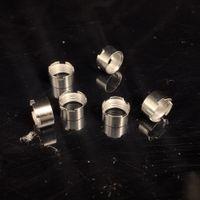instock adaptador de los anillos magnéticos del metal de 510 Extracto de hilo de aceite de Vape Cartuchos Fit M6T Th2 húmeda Vapes Mario carros de atomizador desechable