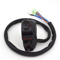 Moto Guidon Commutateur Assy Assemblée démarrage électrique corne Phare Clignotants bouton pour Honda ZJ125 CG125 ZJ CG 125