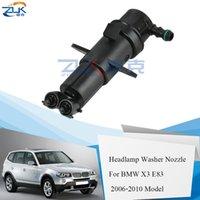 ZUK Scheinwerferwaschanlage Düse Scheinwerfer Wasser-Spray-Jet-Pumpe für BMW X3 E83 2006 2007 2008 2009 2010 OEM: 61673416467 61673416468