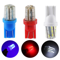 T10 W5W 194 168 Silica Clearance Lights 3014 24 SMD LED Car ...