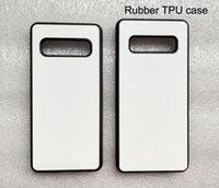 Резиновый тпу чехол для samsung S10 S9 S8 Гной s6 s7 край s5 сублимационный чехол + пустая белая металлическая алюминиевая пластина 100шт