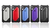 para iPhone 6s Plus 7 8 X XS Max XR Stong Funda protectora para teléfono a prueba de golpes 4 Coners Robot Defender para Samsung Note 10 Pro S10