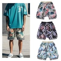 Fear Of God Shorts Uomo Donna Floreale La collezione 1987 FOG fearofgod Beach Maglie Shorts Summer Style Clothing