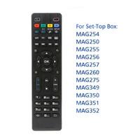 Pour Mag250 Mag322 W1 Universal remplacement de télécommande IR intelligent télécommande pour Mag 254 255 260 261 270 TV Set Top Box