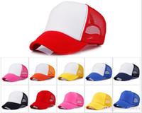 13 colori Berretto da baseball per adulto Berretto da baseball per adulto Cappellino per camionista Snapback Cappelli Acept Logo su misura DC078