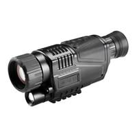 Lunette de lunette de vision nocturne infrarouge numérique 5X40 pour télescope de chasse longue portée avec caméra shoot